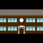 木造校舎のイラスト02