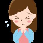 謝罪/お詫び/お願いをしている女性のイラスト