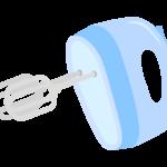 ハンドミキサー・泡立て器のイラスト