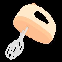 ハンドミキサー・泡立て器のイラスト02