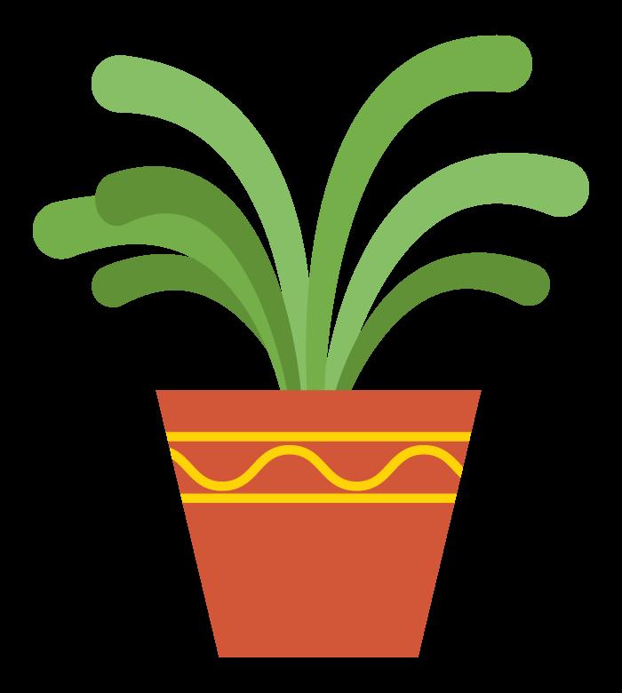 観葉植物のイラスト02
