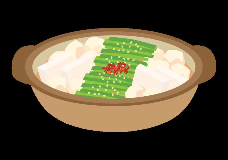 もつ鍋のイラスト