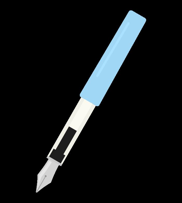 万年筆のイラスト02