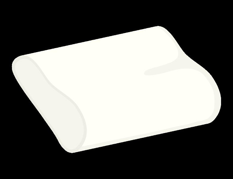 機能的な枕のイラスト