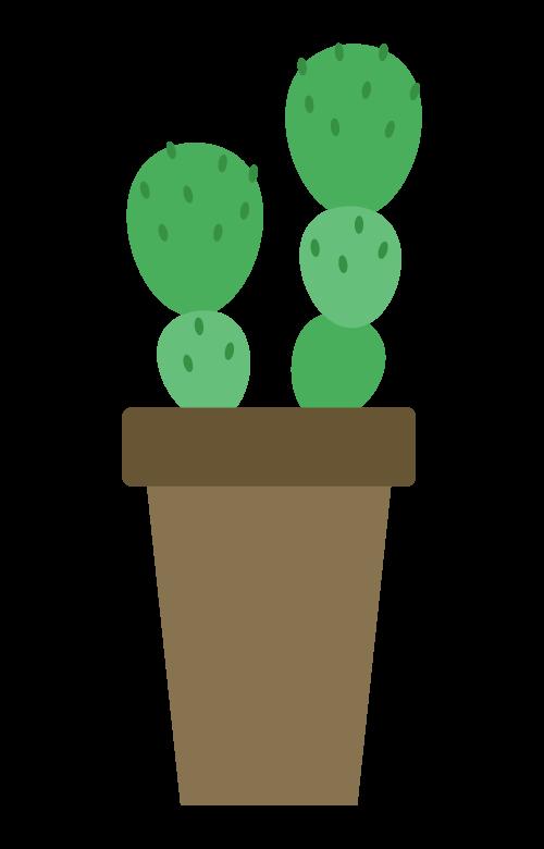サボテン・観葉植物のイラスト02