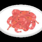 桜えびのイラスト