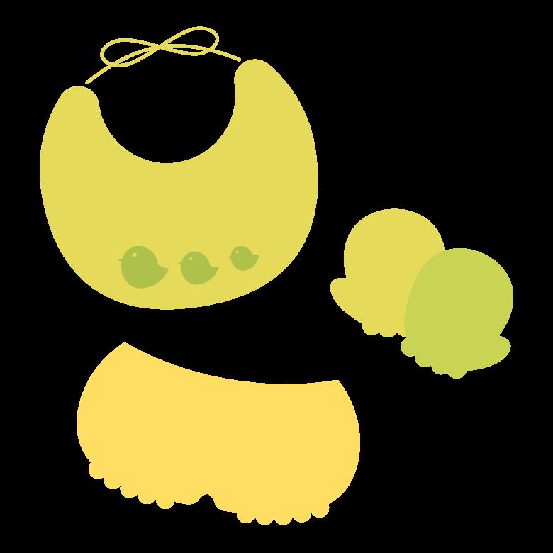 赤ちゃんグッズのイラスト