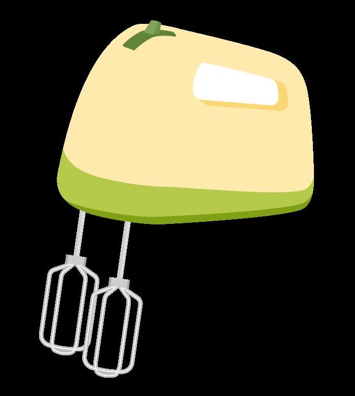 ハンドミキサー・泡立て器のイラスト03