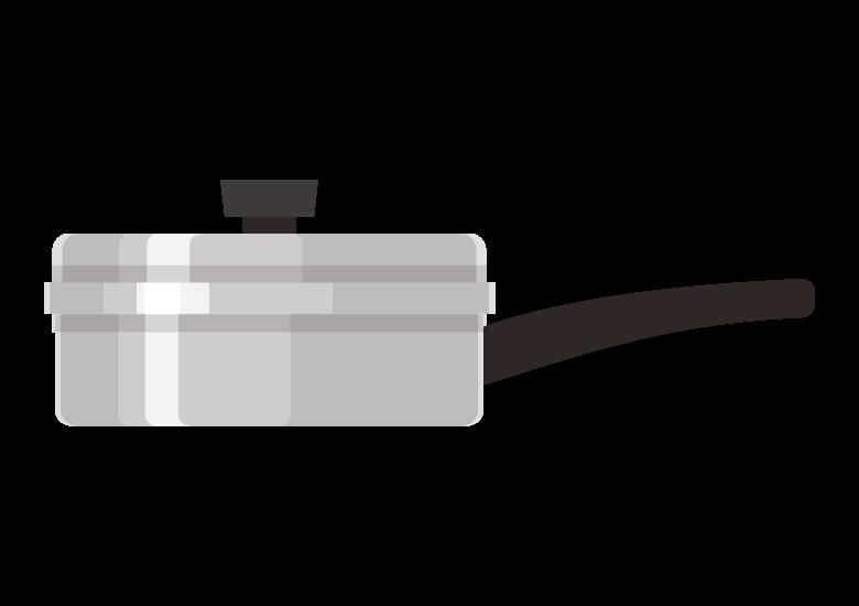 お鍋/フライパンのイラスト