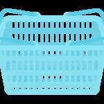 買い物カゴのイラスト