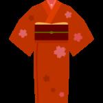 和服/着物のイラスト