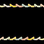 パンプス/ヒールのフレーム・飾り枠イラスト
