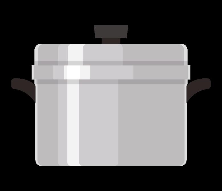 お鍋/調理道具のイラスト
