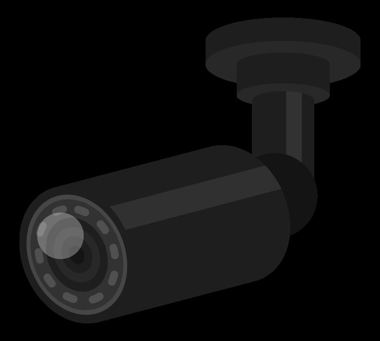 防犯カメラのイラスト