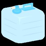 飲料水用のポリタンクのイラスト02