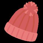 毛糸の帽子のイラスト