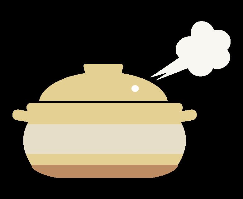 冬/お鍋のイラスト