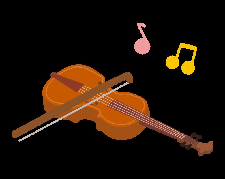 ヴァイオリンのイラスト02