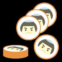 金太郎飴のイラスト