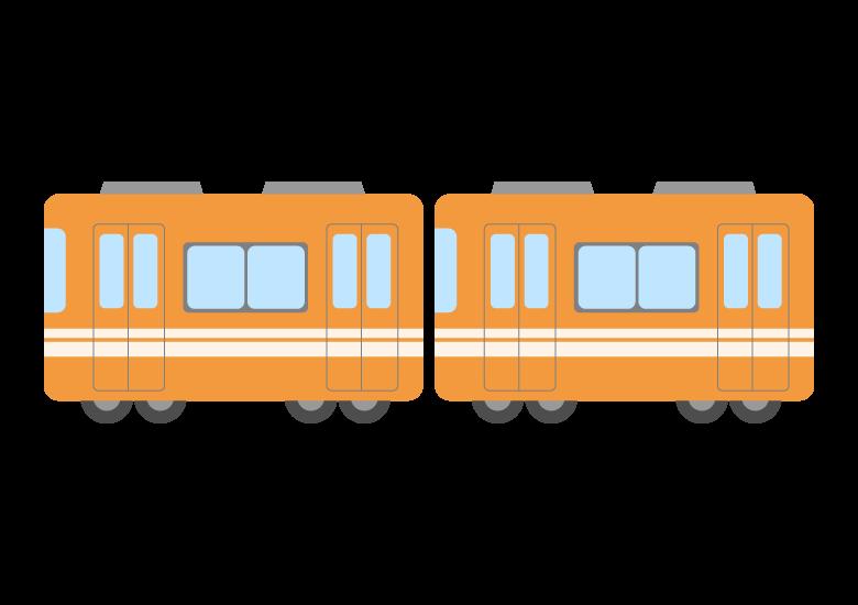 各駅停車/ローカル線/電車のイラスト