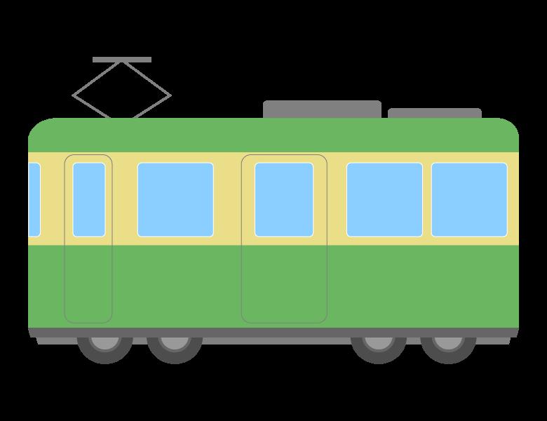 各駅停車/ローカル線/電車のイラスト02