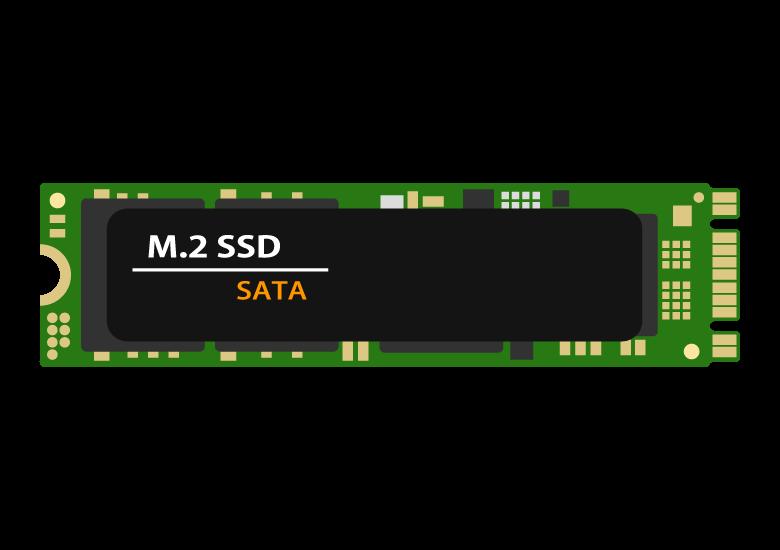 M.2(エムドットツー)SSDのイラスト02