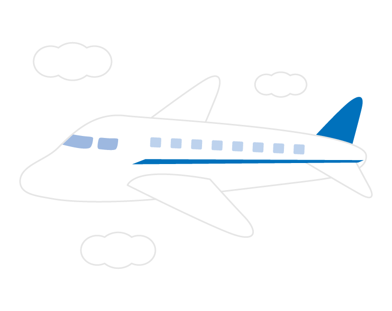 飛行機のイラスト02