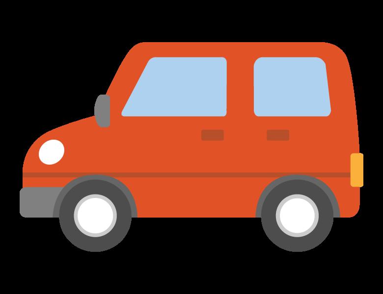 自動車/コンパクトカーのイラスト