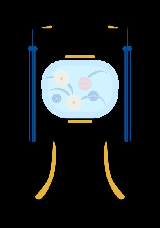 盆提灯のイラスト