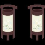 盆提灯のイラスト02