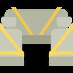 シートベルト/自動車のイラスト