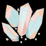 水晶(クリスタル)のイラスト