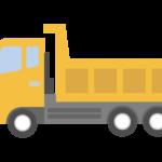 ダンプカー/トラックのイラスト