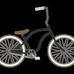 おしゃれな自転車のイラスト