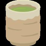 緑茶/お茶/日本茶のイラスト