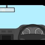 運転席/自動車のイラスト