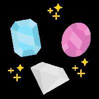 宝石のイメージイラスト