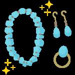 宝石類/ジュエリーイメージのイラスト