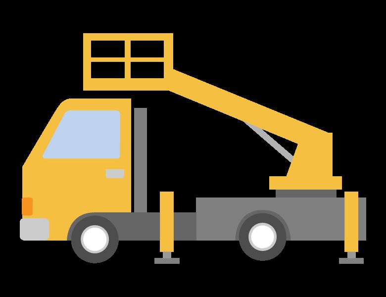 高所作業車のイラスト02