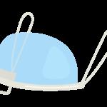 マウスシールド(斜めアングル)のイラスト