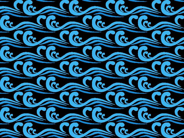波/ウェーブのテクスチャーのイラスト