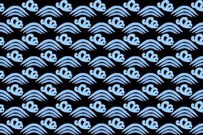 波/ウェーブのテクスチャーのイラスト02