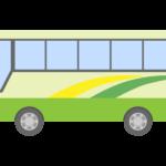 観光バス/高速バスのイラスト