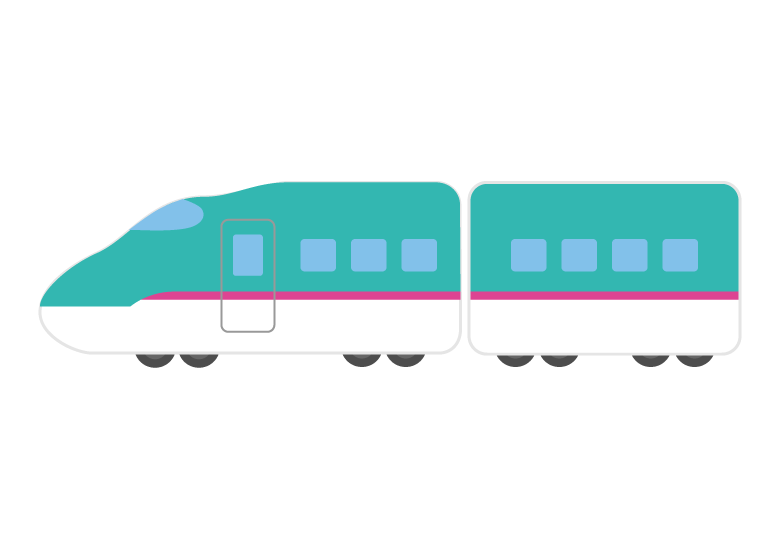 新幹線のイラスト04