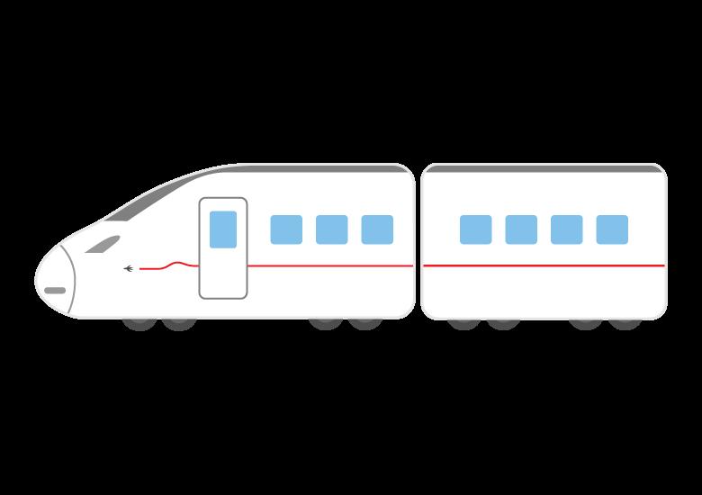 新幹線のイラスト06