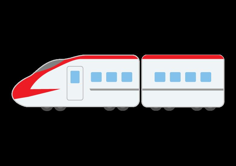 新幹線のイラスト07