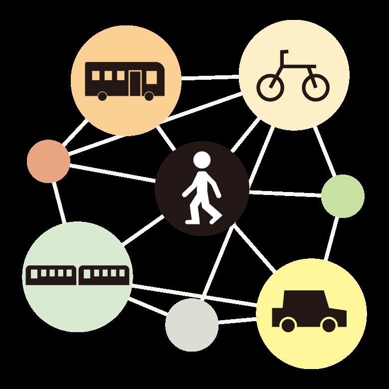 乗り物/交通イメージのイラスト