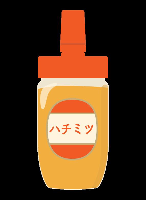 ハチミツ(蜂蜜)のイラスト02