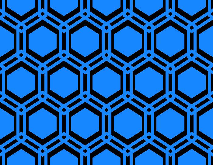 幾何学模様のテクスチャー/パターン/青色系のイラスト