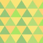 幾何学模様のテクスチャー/パターン/緑色系のイラスト